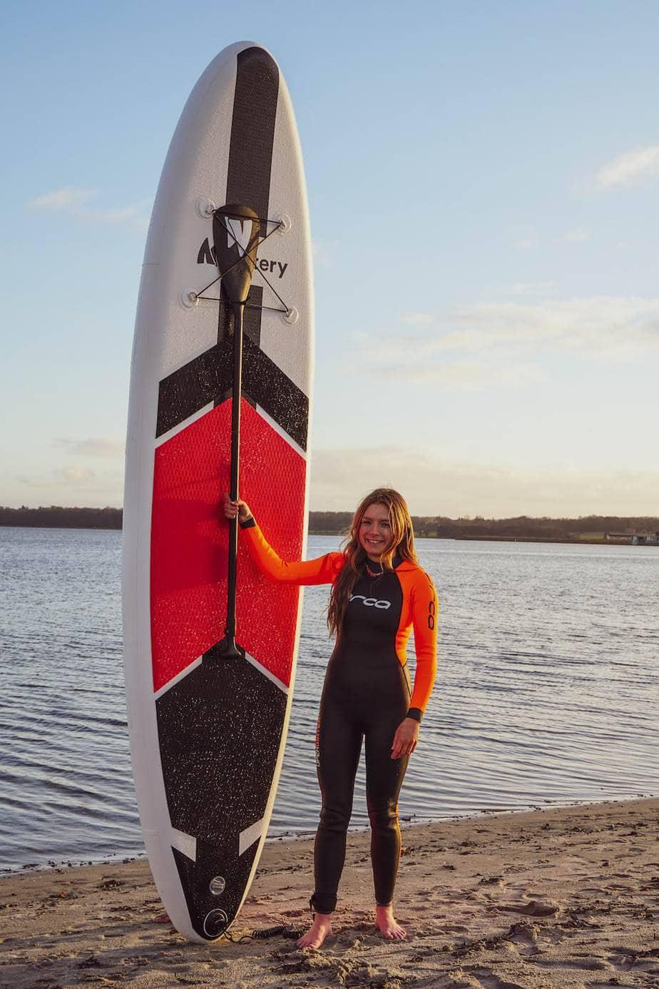 Watery_Global_Paddleboard_-_Rød